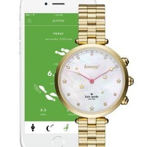Kate Spade New York Holland Hybrid Bracelet Watch